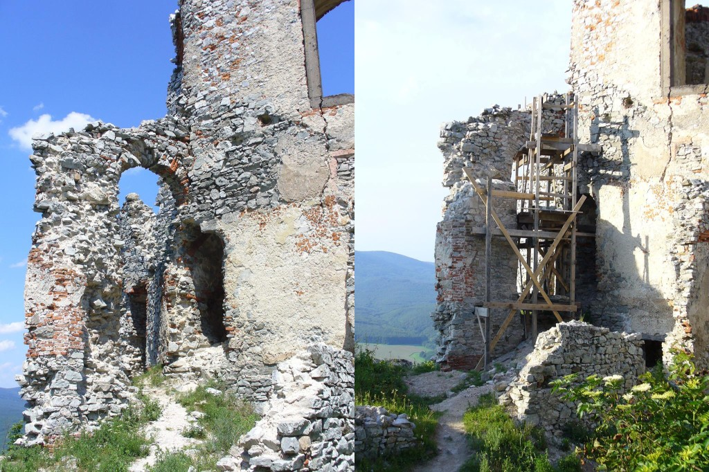 Obnova hradu Gýmeš