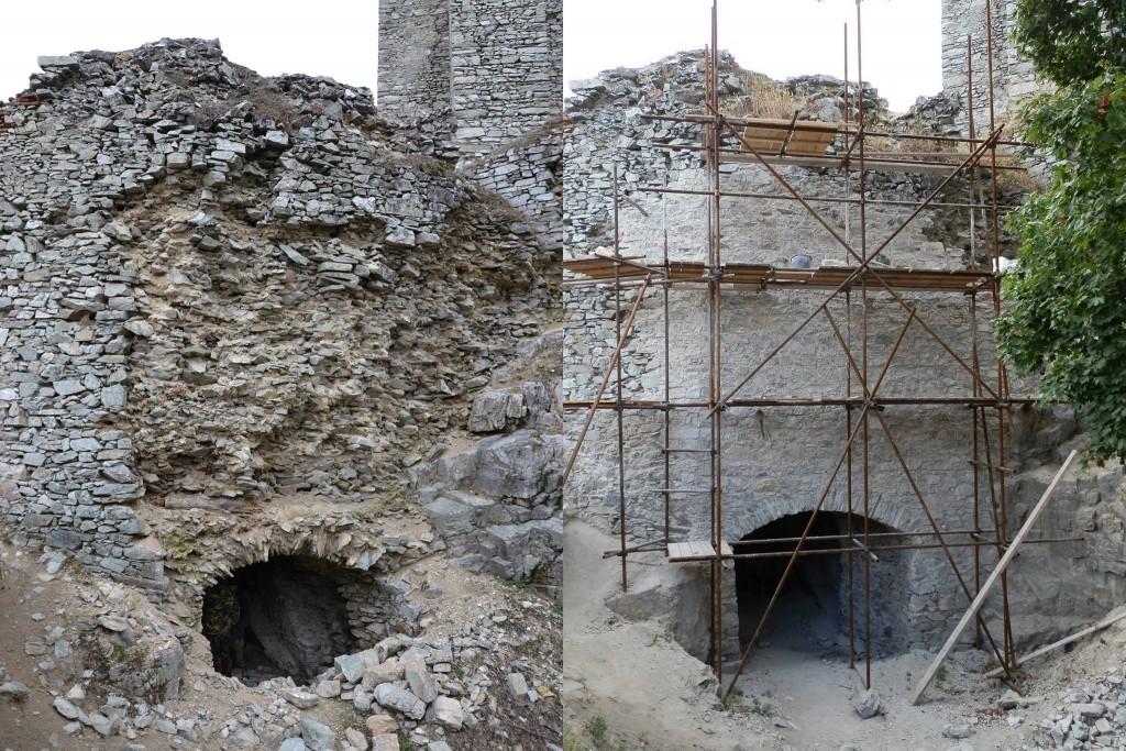 obnova hradu gymes