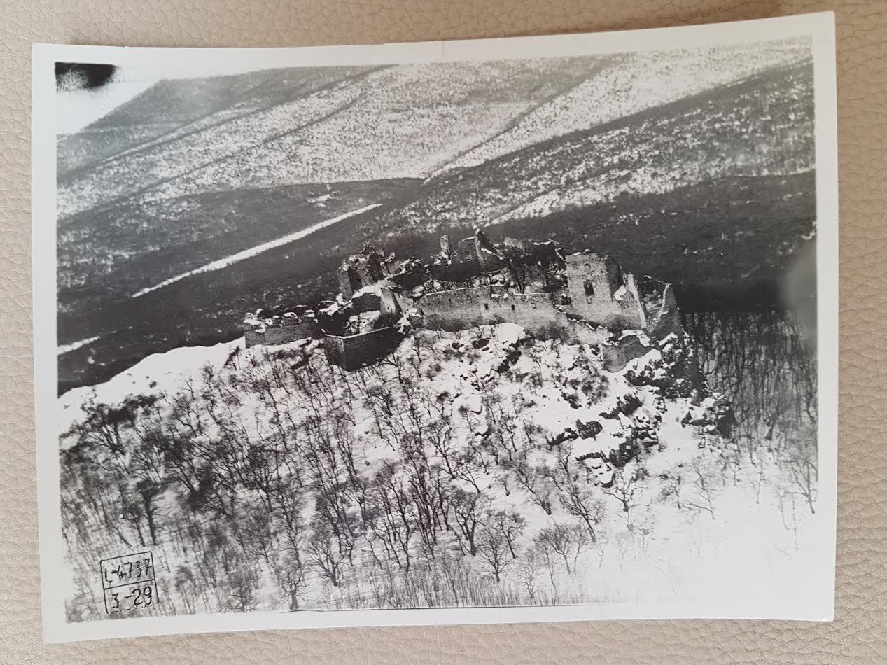 Hrad Gýmeš 1929